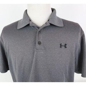 Under Armour Heat Gear Loose Large Golf Polo Shirt